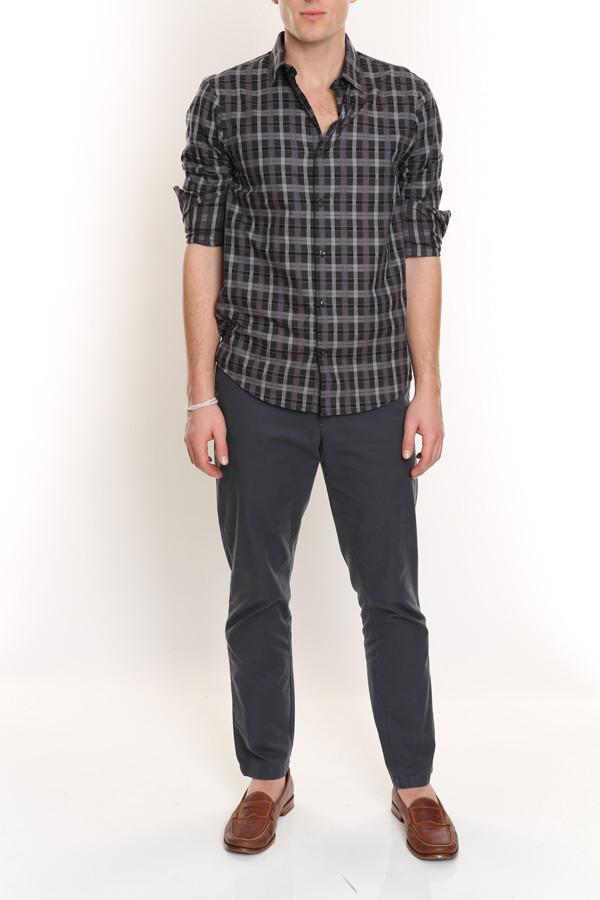 Plaid Cotton Shirt